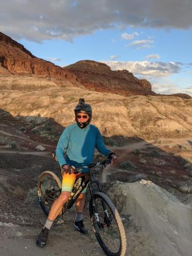 Mountain Biking near St. George in late March 2020