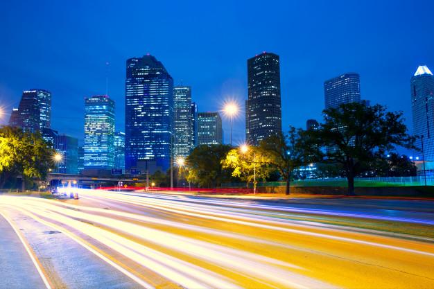 houston-texas-skyline-sunset-with-traffic-lights_79295-3446