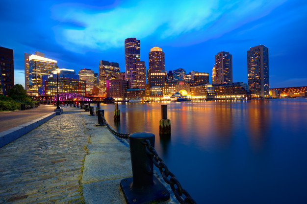 boston-sunset-skyline-fan-pier-massachusetts_79295-4646