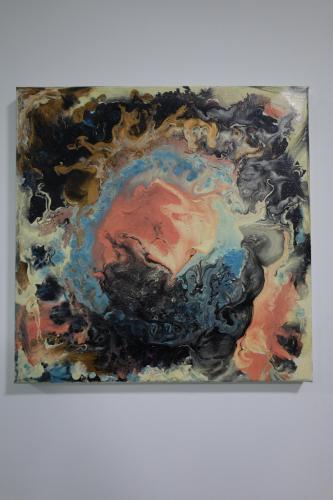 The orange nebula